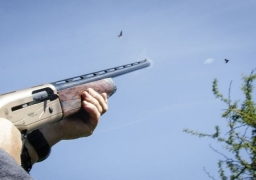 great shot with his Beretta A400